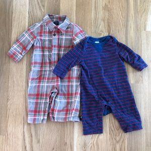 Baby GAP Boy romper bundle